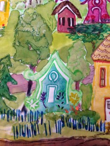 Village Whimsy detail